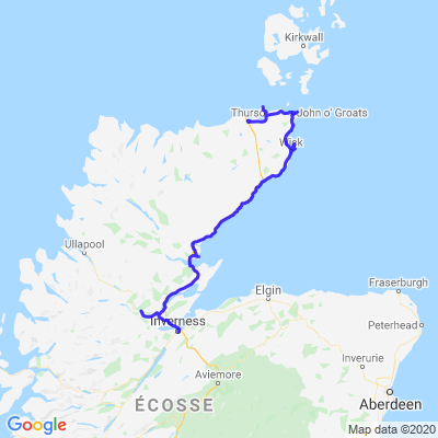 Ecosse J5 - Inverness - Thurso