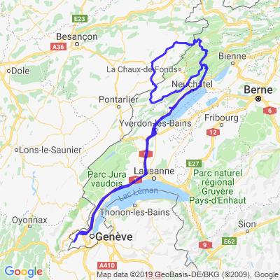 Jura Neuchâtel & France
