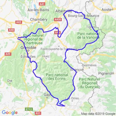 Deux jours dans les Alpes depuis Voiron
