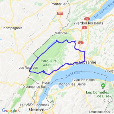 St-Cergue - Vallée de Joux