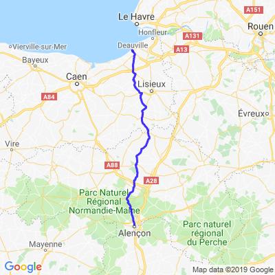 Alençon - Deauville
