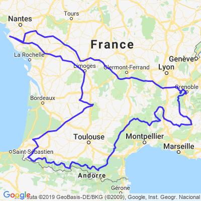 Road trip sud France