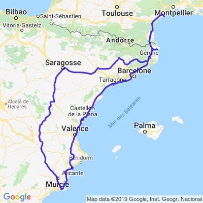 Espagne Pâques 2019