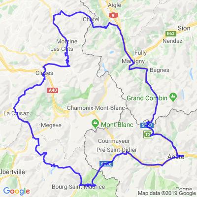 Tour de 10 Cols (CH-I-F)