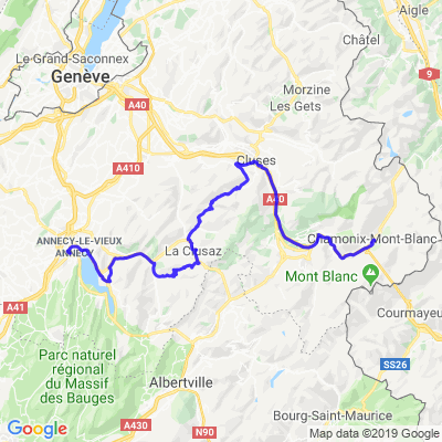 Chamonix - Annecy