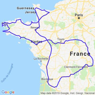 Chateaux de la Loire et Bretagne