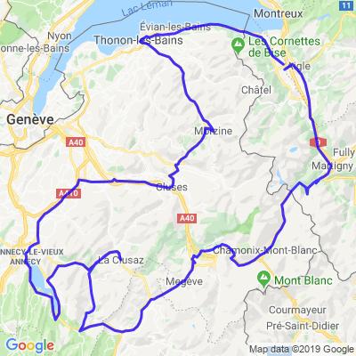 Balade sur 2 jours (Suisse-France)