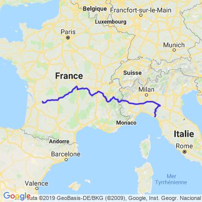voyage ligurie italie