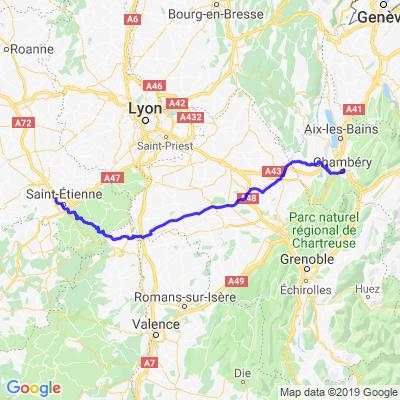 Chambéry St Etienne