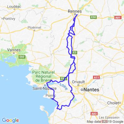 Rennes - Pornic