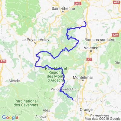 L'Ardèche par ses monts et ses gorges