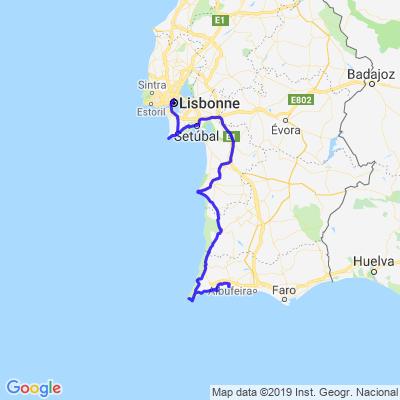 Portugal: lisbonne - portimao
