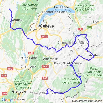 Notre Tour du Mont Blanc! Jour 2...