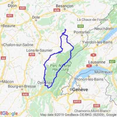 Lacs du Haut Jura et crêtes de Saint Claude