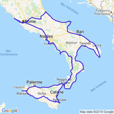 Italie du sud-Sicile