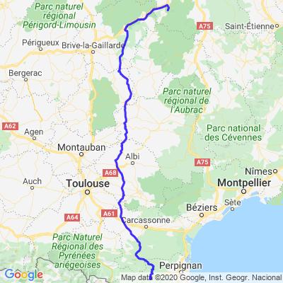 Vacances 2019 (  Prades / Saint sauves d'Auvergne  )
