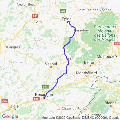 Besançon - Les Vosges