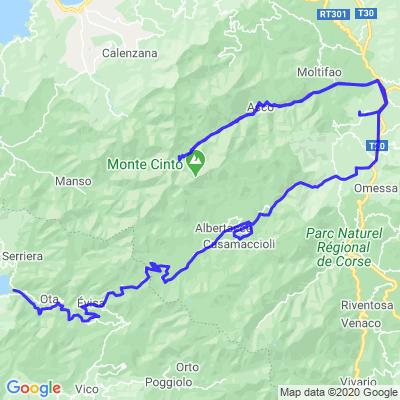 Tour de Corse en Moto 8ième Jours Vendredi 24.07