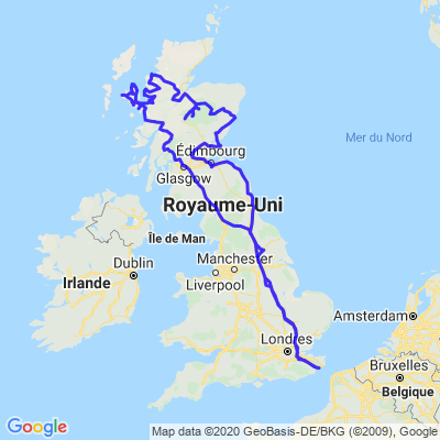 RoadTrip Ecosse 2018