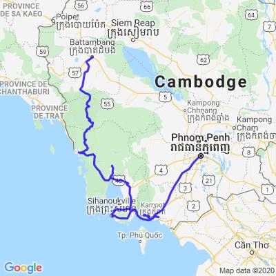 Cambodge - Traversee des Cardamomes