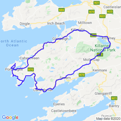 Tour d'Irlande (J02/10) The ring of Kerry