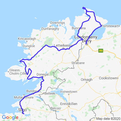 Tour d'Irlande (J07/10) Sligo - Londonderry