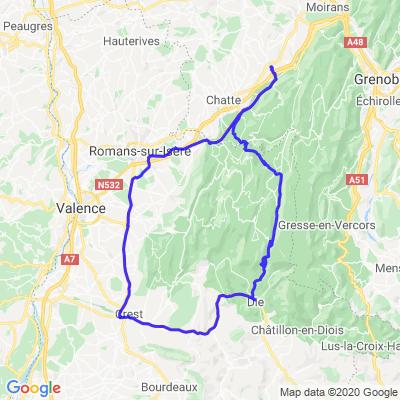 Vercors / Col du Rousset