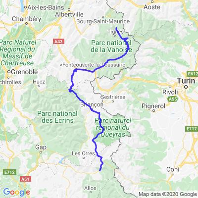 Tour des Grandes Alpes (jour 2)