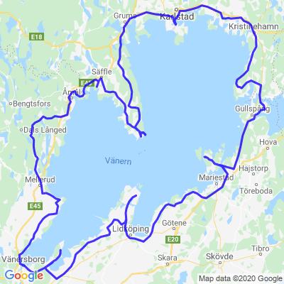 Tour du lac Vänern