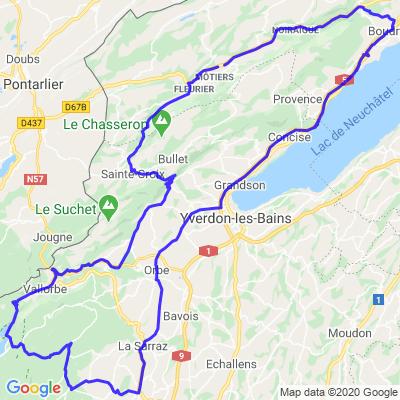 Mollendruz - Saint-Croix - Val de Travers