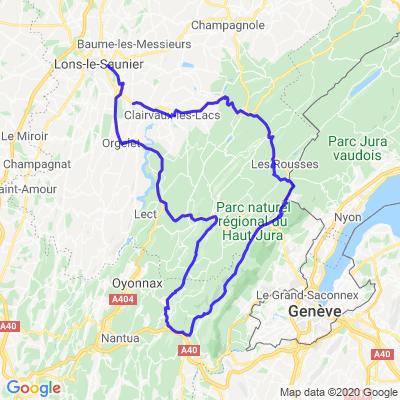 Un dimanche dans le Jura