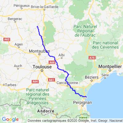Ride Dordogne retour