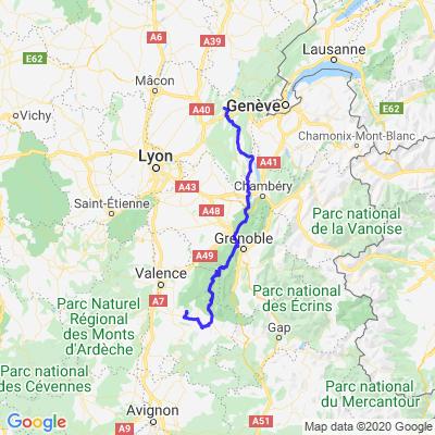 Retour Drôme Vercors juin 2020