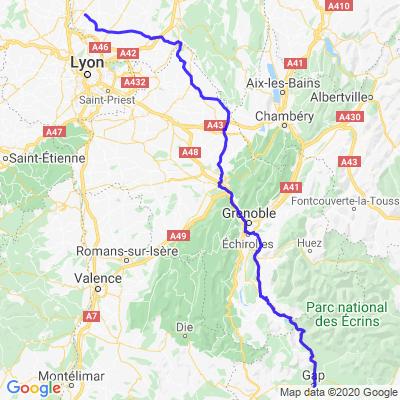 Etape 2 Périple Route Napoléon