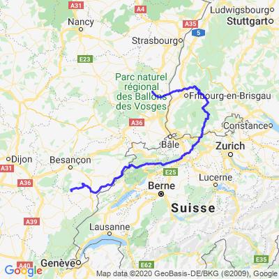 Boucle Suisse Forêt Noire Alsace