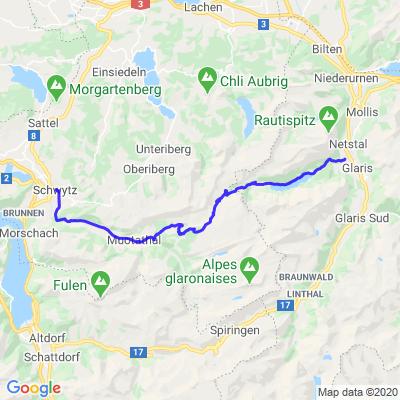 Le Col de Pragel (Pragelpass)