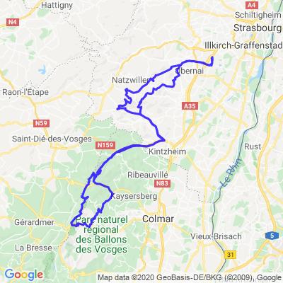 Boucle entre Bas-Rhin et Haut-Rhin