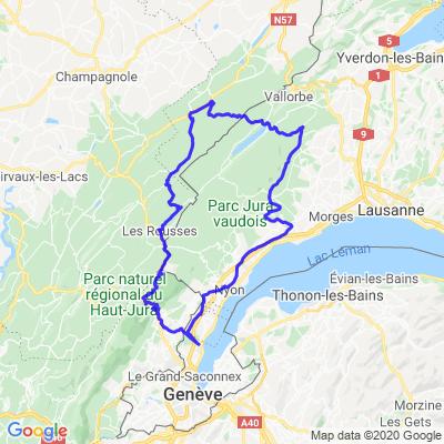 Versoix - Les Rousses - Joux