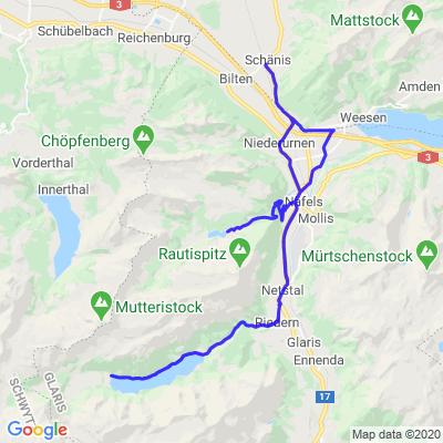 Klöntalersee et Obersee