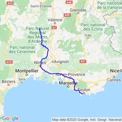 1ère journée - Ardèche
