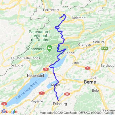 Fribourg - St-Ursanne