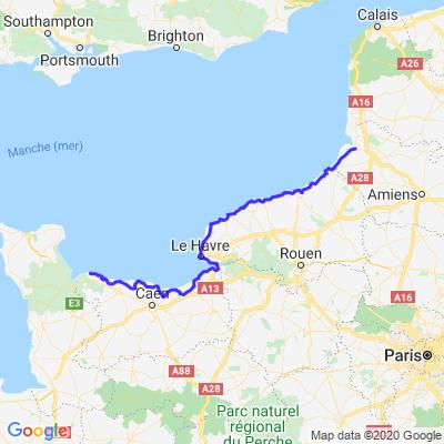Etape 3 Trip 2020 Alsace/ Belgique/ Normandie/ Bretagne/ Val de Loire/ Franche Comte