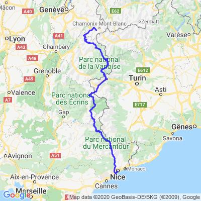 Route des Alpes jour 1