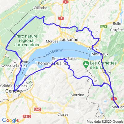 Virée dans les Alpes française et le Jura Suisse