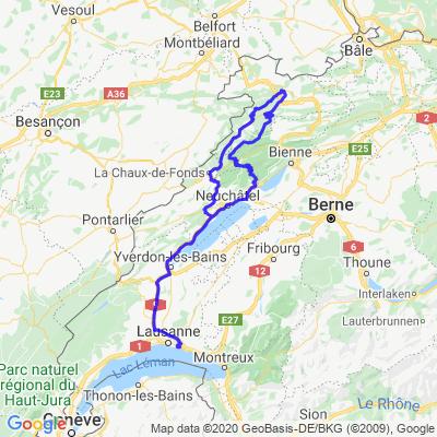 Virée dans le jura neuchâtelois & le Jura