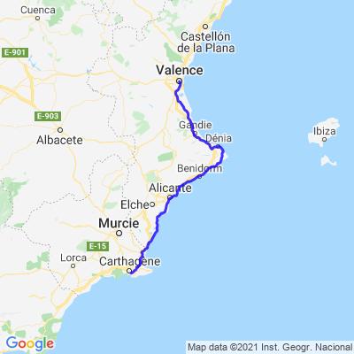 Tour de la péninsule Ibérique - J24 ET J25