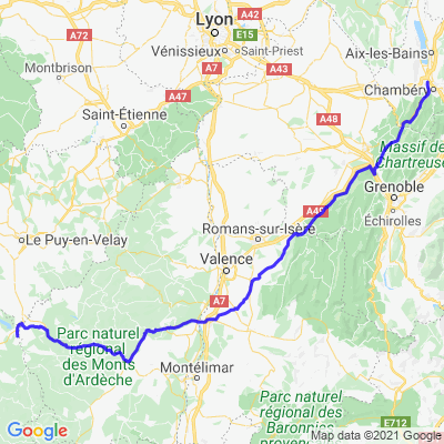 Moto et rafting en Lozère - J1