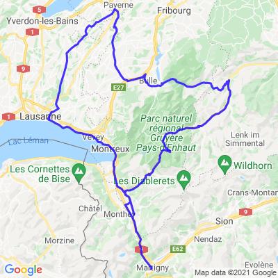 Région valais, Vaud, frigourg, col du jaunpass, col des mosses