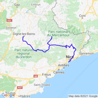 La Route des Grandes Alpes - Retour J3