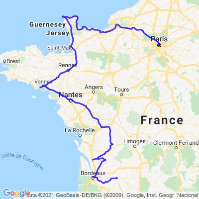 Tour de France des villes du Monde - dernière partie